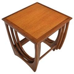 Set of G Plan Astro Teak Nesting Tables
