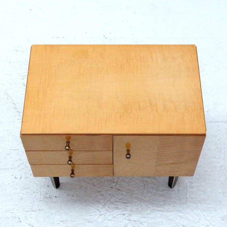 Set of German Nightstands, 1950s For Sale 3
