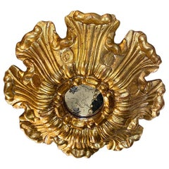 Set of Giltwood Sunburst Fixtures, Sold Individually