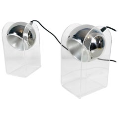 Set of Gino Sarfatti Table Lamps Model 540P for Arteluce, Italy, 1968