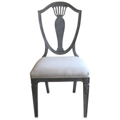 Set of Gustavian Dining Chairs