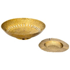 Set of Indian Plate with Ashtray