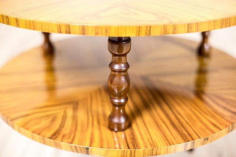 Set of Intarsiated Tables from the 1970s For Sale 8