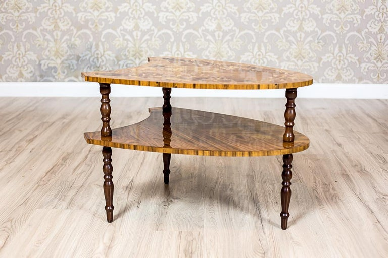 Set of Intarsiated Tables from the 1970s For Sale 9