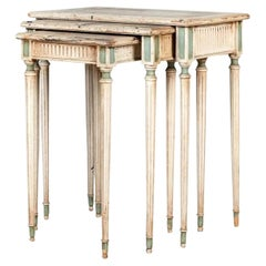 Set of Italian Nesting Tables 19th Century