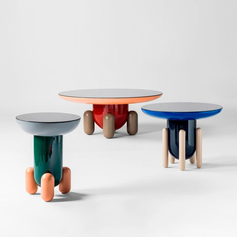 Modern Set of Jaime Hayon Multi-Color-1 Explorer Tables by BD Barcelona For Sale