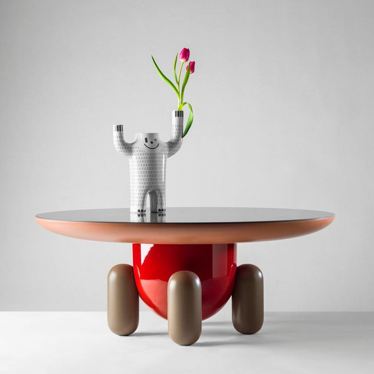 Spanish Set of Jaime Hayon Multi-Color-1 Explorer Tables by BD Barcelona For Sale