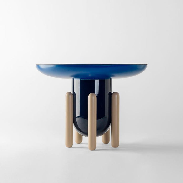 Set of Jaime Hayon Multi-Color-1 Explorer Tables by BD Barcelona In New Condition For Sale In Barcelona, Barcelona