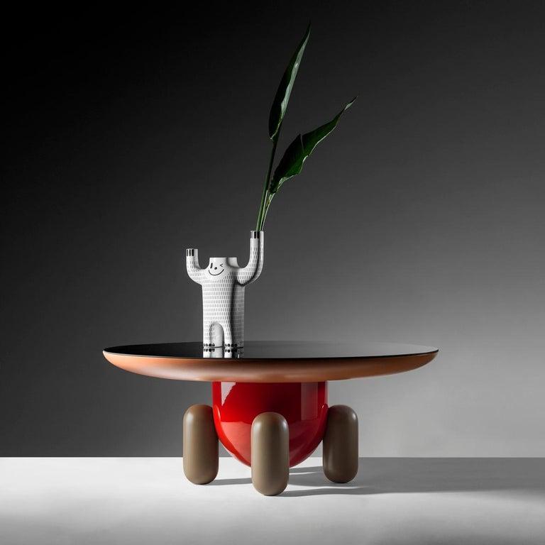Glass Set of Jaime Hayon Multi-Color-1 Explorer Tables by BD Barcelona For Sale