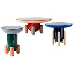 Set of Jaime Hayon Multi-Color-1 Explorer Tables by BD Barcelona