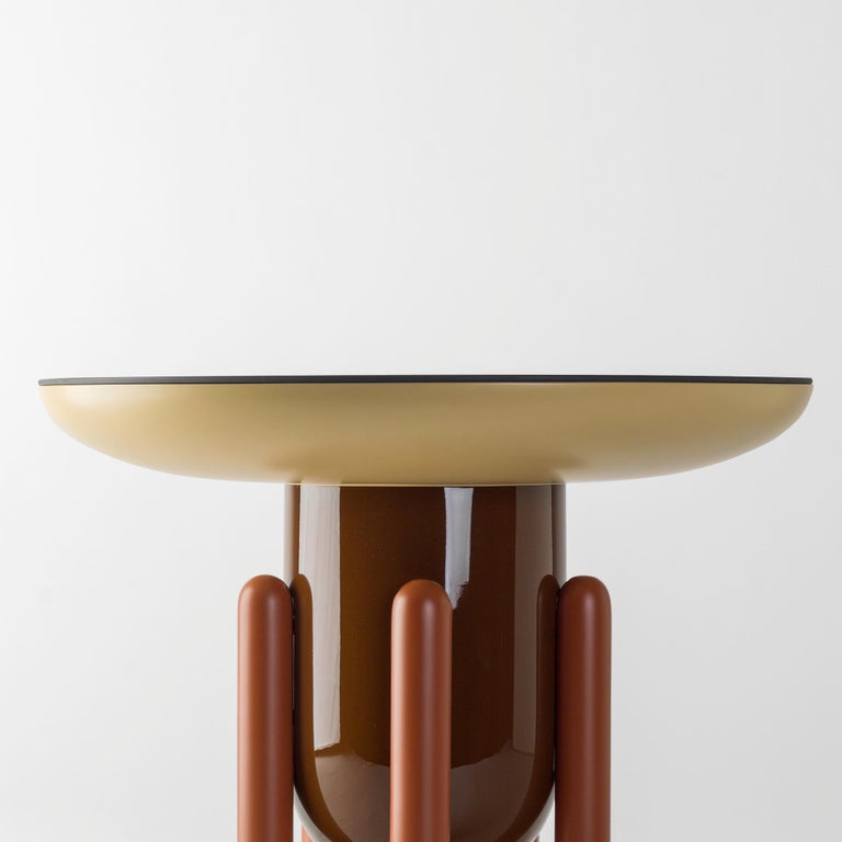 Set of Jaime Hayon Multi-Color-2 Explorer Tables by BD Barcelona In New Condition For Sale In Barcelona, Barcelona