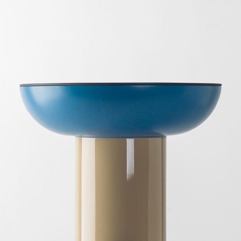 Glass Set of Jaime Hayon Multi-Color-2 Explorer Tables by BD Barcelona For Sale