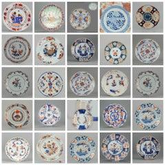 Set of Japanese and Chinese Imari Plates Wall Decoration Porcelain, China