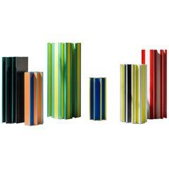 Set of Jorge Penadés Aluminum Multi-Color Piscis Collection by BD Barcelona