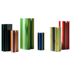 Set of Jorge Penadés Aluminum Multi-Color Piscis Collection by BD Barcelona