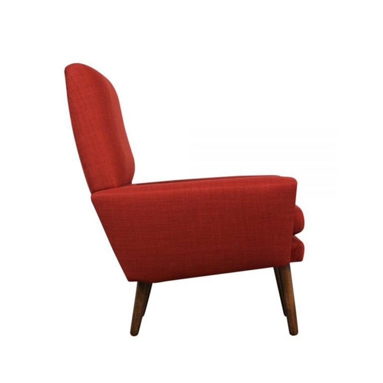 Danish Kurt Ostervig Lounge Chairs In Good Condition For Sale In Los Angeles, CA
