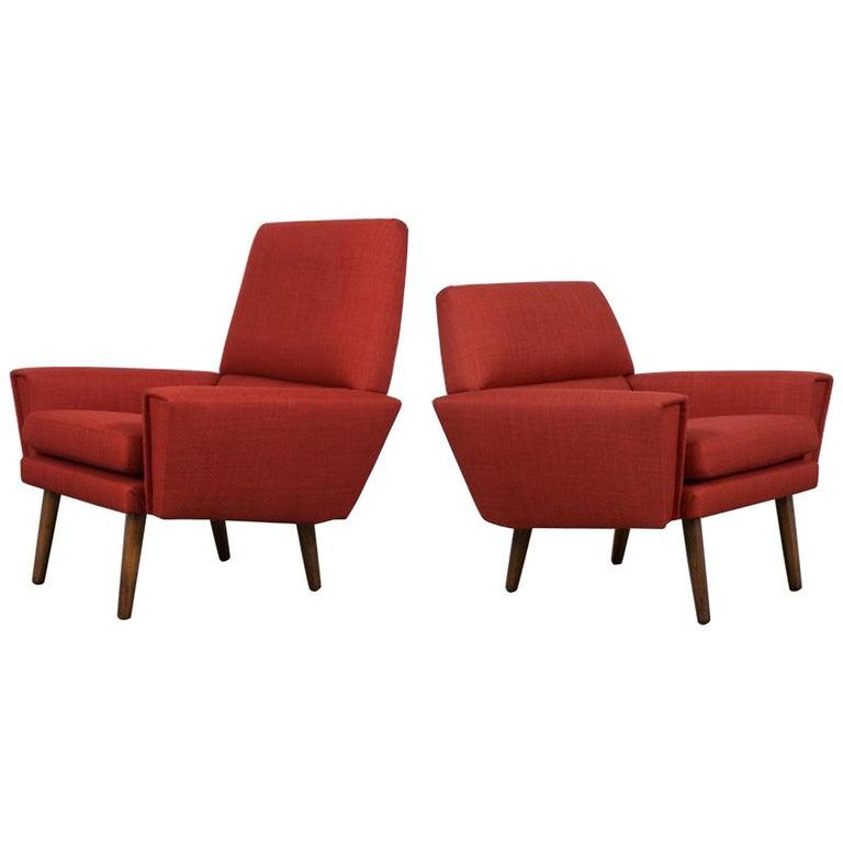 Danish Kurt Ostervig Lounge Chairs For Sale