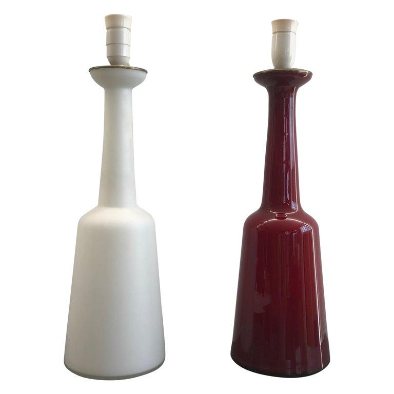 Set of Lamps by Bent Nordsted for Holmegaard For Sale