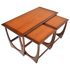 Set of Large G Plan Astro Teak Nesting Tables #1