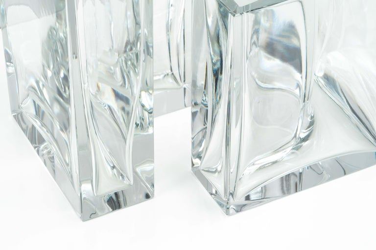 Crystal Set of Two Large