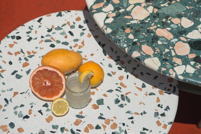 Set of Lira Coffee Tables, Terrazzo top, Contemporary Mexican Design For Sale 4
