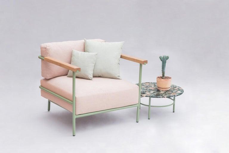 Set of Lira Coffee Tables, Terrazzo top, Contemporary Mexican Design For Sale 1
