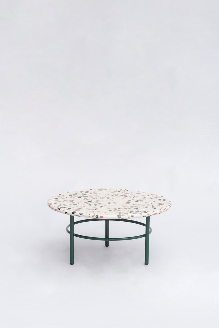 Set of Lira Coffee Tables, Terrazzo top, Contemporary Mexican Design In New Condition For Sale In Mexico City, MX