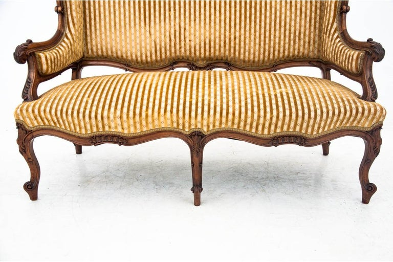Set of Louis Philippe Style Living Room Set, France, circa 1890 For Sale 6