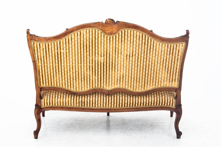 Set of Louis Philippe Style Living Room Set, France, circa 1890 For Sale 9