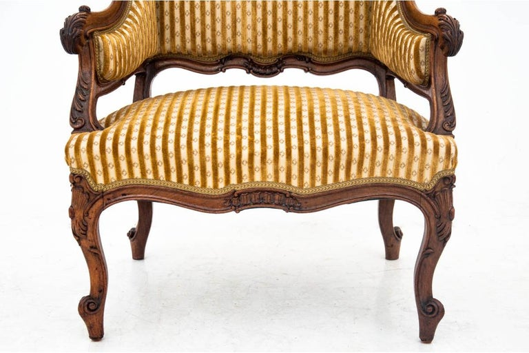 Late 19th Century Set of Louis Philippe Style Living Room Set, France, circa 1890 For Sale