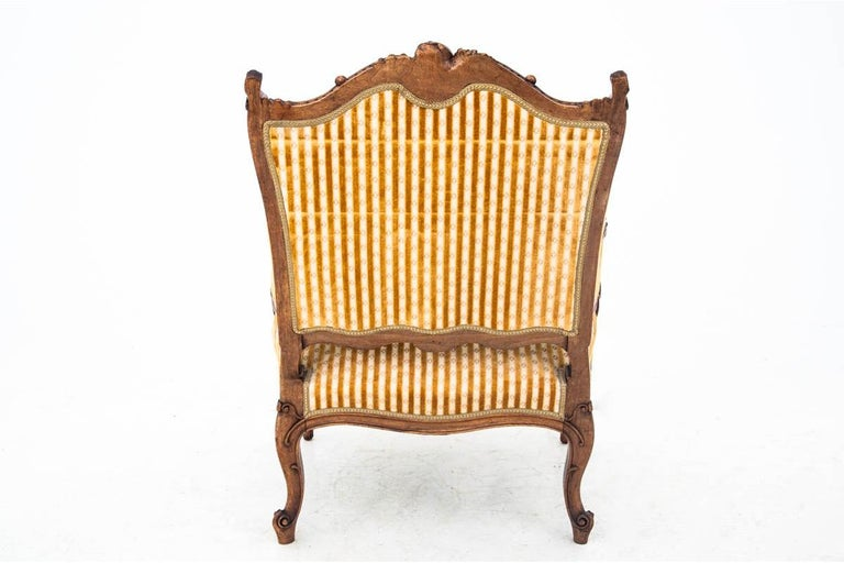Set of Louis Philippe Style Living Room Set, France, circa 1890 For Sale 2