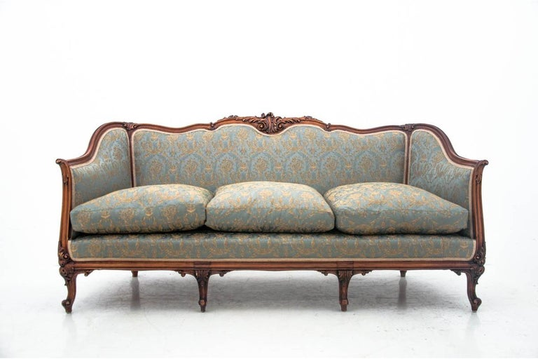 Set of Louis Philippe Style Living Room Set, France, circa 1920 For Sale 4