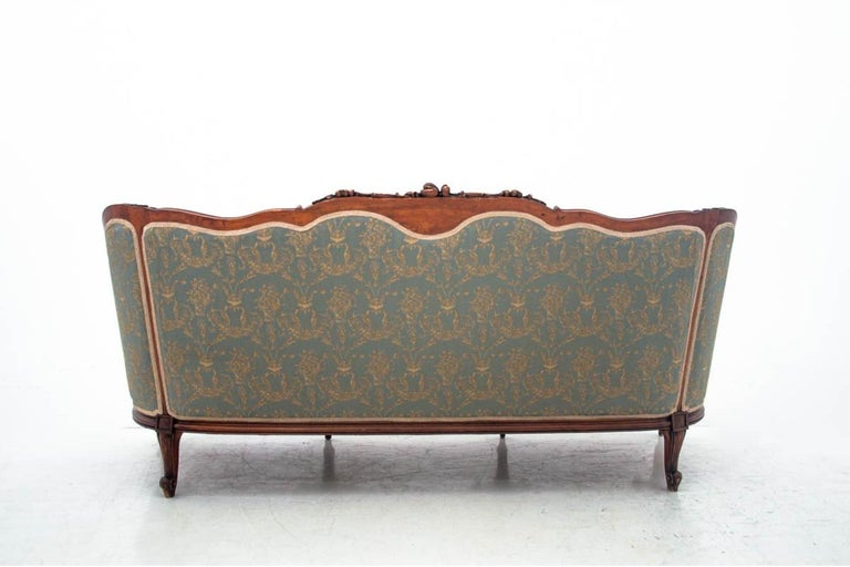 French Set of Louis Philippe Style Living Room Set, France, circa 1920 For Sale