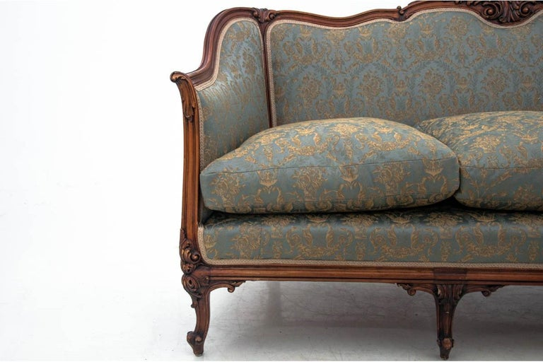 Early 20th Century Set of Louis Philippe Style Living Room Set, France, circa 1920 For Sale