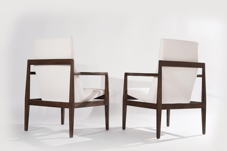 American Set of Lounge Chairs by Jens Risom, c. 1960s For Sale