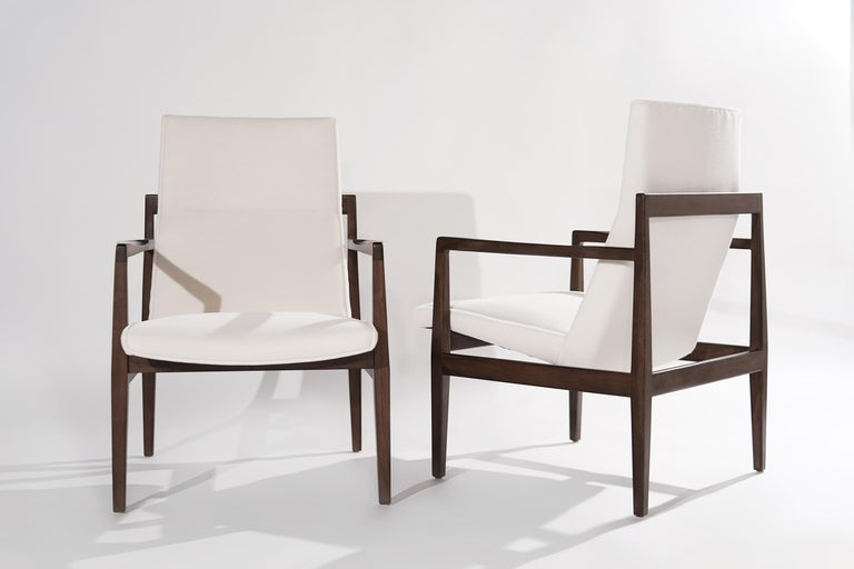 20th Century Set of Lounge Chairs by Jens Risom, c. 1960s For Sale