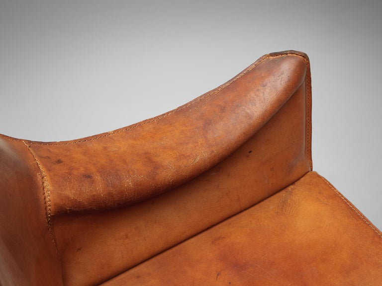 Set of Mario Bellini 'Cab' Chairs for Cassina 3