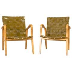 Set of Mid-Century Modern Gustav Axel Berg Armchairs
