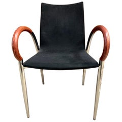 Set of Mid-Century Modern Made in Italy Dining Chairs