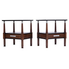 Set of Mid-Century Modern Nightstands