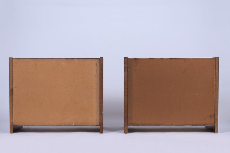 Pair of Mid-Century Modern Walnut Dressers For Sale 3