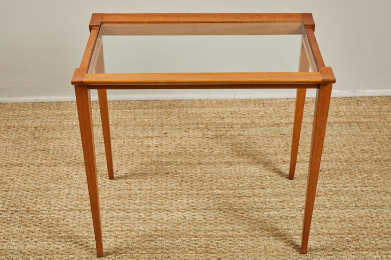 Scandinavian Set of Midcentury Nesting Tables For Sale