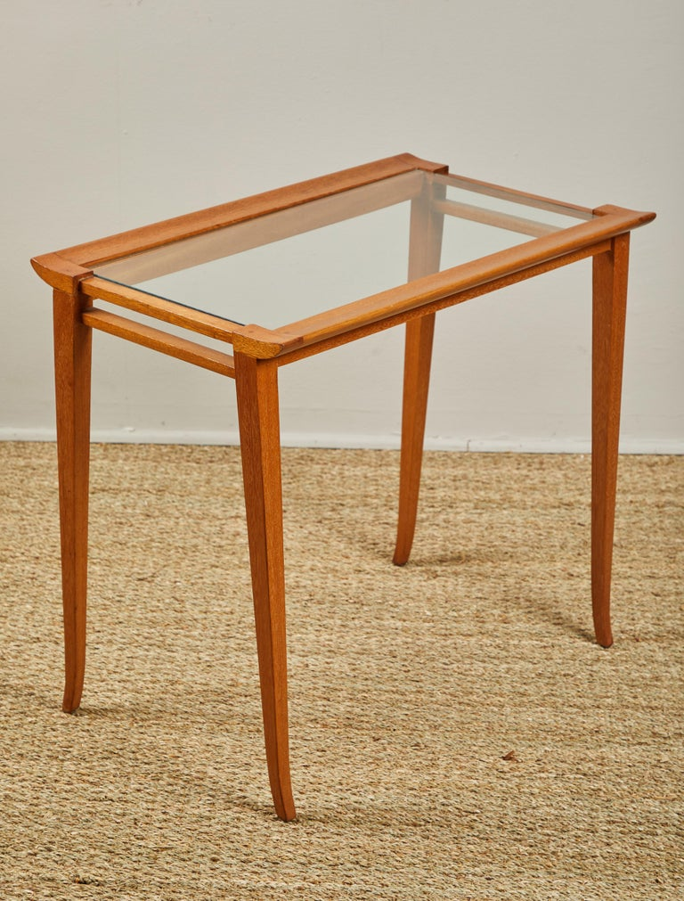 Set of Midcentury Nesting Tables In Good Condition For Sale In Los Angeles, CA