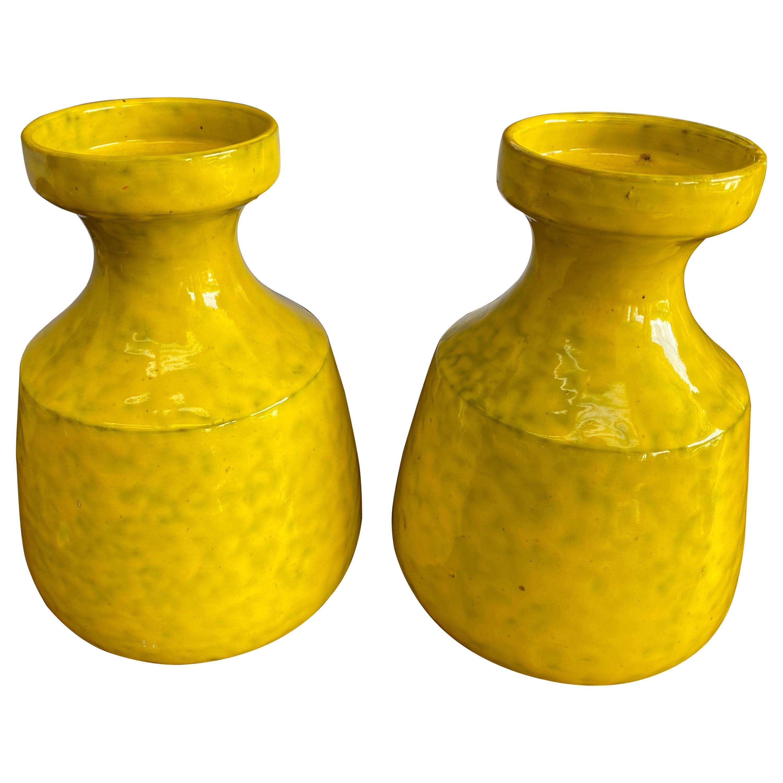 Set of Mid-Century Rosenthal-Netter Ceramic Vases