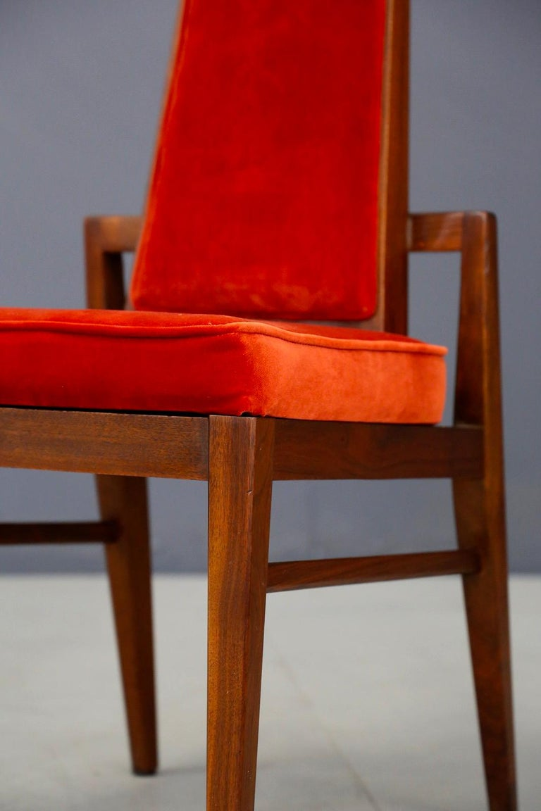 Set of Midcentury Asain Armchairs Attributed a James Mont, 1950s  In Good Condition For Sale In Milano, IT