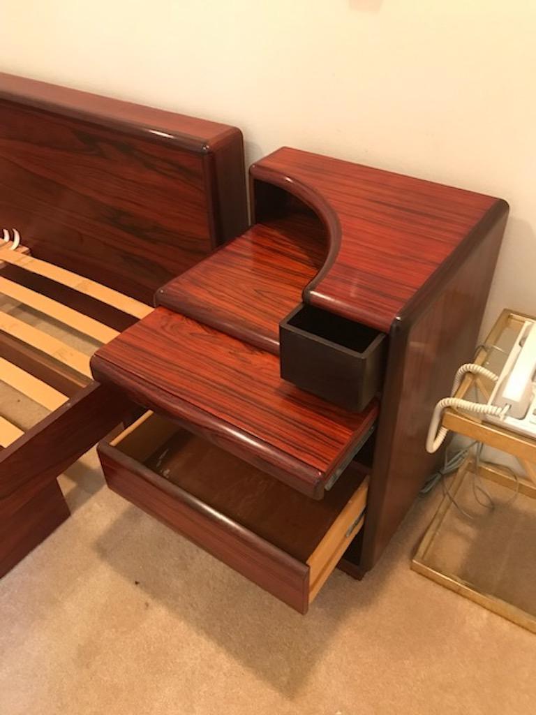 Set of Midcentury Danish Bedroom Furniture in Rosewood