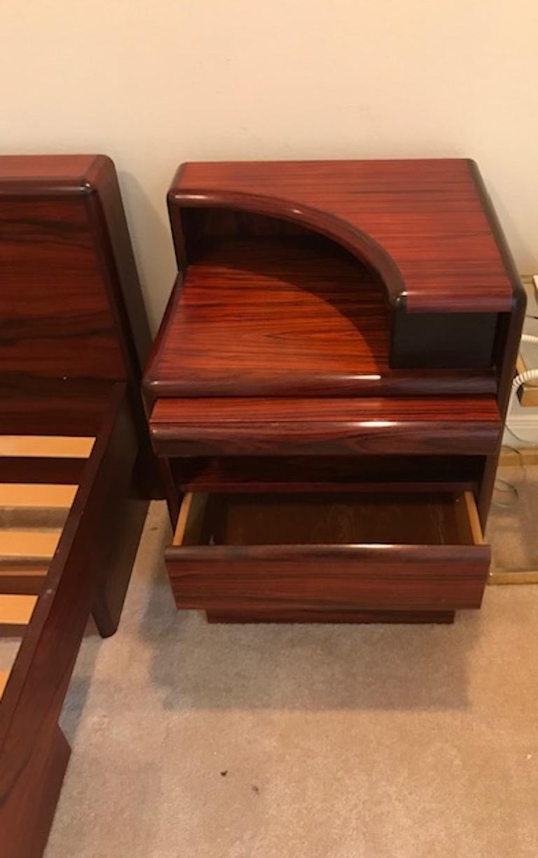 Set of Midcentury Danish Bedroom Furniture in Rosewood at ...