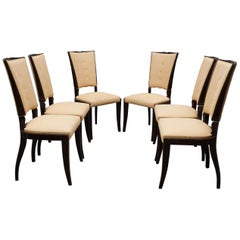 Set of Midcentury Dining Room Chairs, 1940