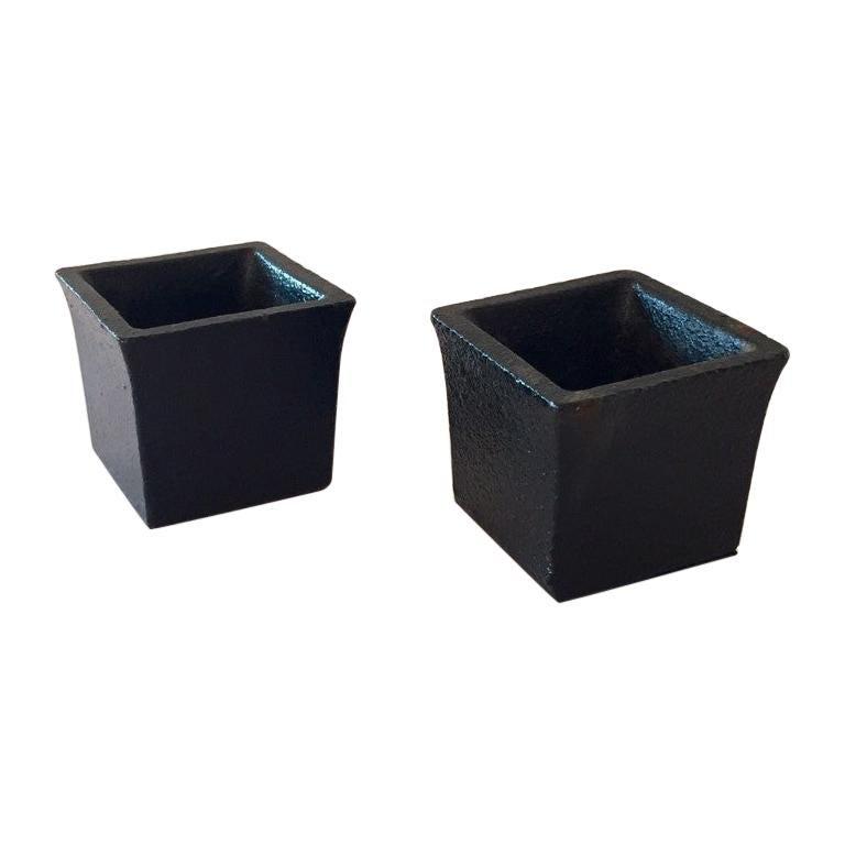 Set of Modernist Japanese Ikebana Vases