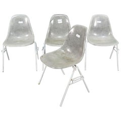 Set of Molded Midcentury Chairs